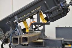 Порезка металлопроката на ленточнопильном станке