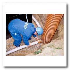 Design and installation of drain and water-removal