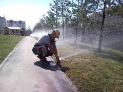 Services of installation of automatic irrigation