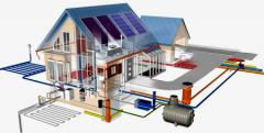 Construction of passive houses