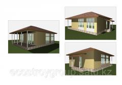 Изготовление дачного дома