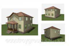 Строительство деревянно-каркасного дома