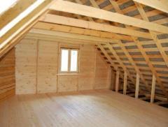 Construction of attic floors