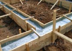 Установка деревянного дома