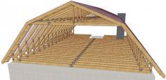 Construction of mansard
