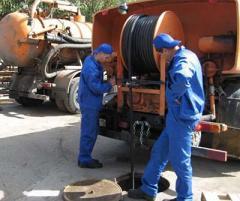 Продувка канализации в Астане