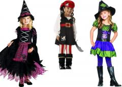 Sewing children's carnival costumes