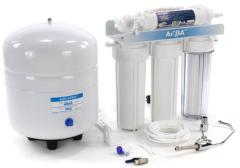 Installation of water treatment equipment