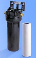 Монтаж картриджей для фильтров очистки воды горячей