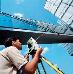 Наблюдения за деформациями зданий и сооружени