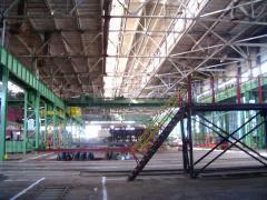 Производство каркасов промышленных зданий