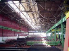 Производство элементов конструкций для мостов