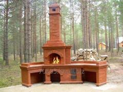 Строительство печей, камин, мангалов, барбекюшниц. Опыт в сфере 30 лет