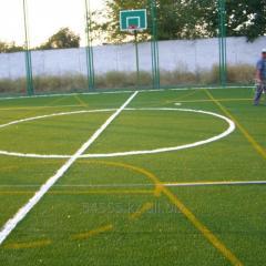 Construction of the turnkey minifootball field