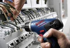 Электромонтаж и пусконаладка электрообрудования