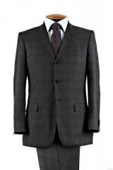 Dry cleaning of men's suits