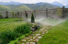 Watering and drainage