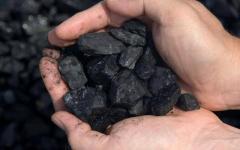 Добыча угля каменного
