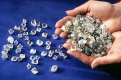 Добыча алмазов, камнецветных минералов