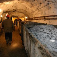 Добывание угля механизированным способом