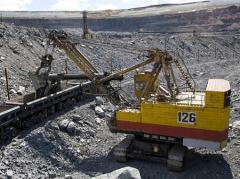 Добыча гравия, твердых ископаемых