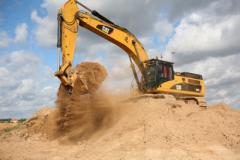 Добыча песка, твердых ископаемых