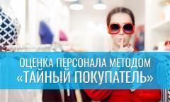Performance appraisal by Secret Buyer method