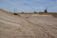 Construction of ash dumps