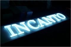Акриловые буквы с подсветкой