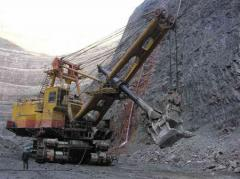 Support services in the extractive industry