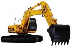 Rental of excavators