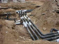 Устройство наружной сети канализации