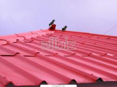Installation of roof