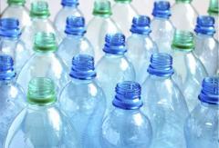 Blowing of plastic bottles