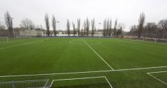Строительство современного футбольного поля