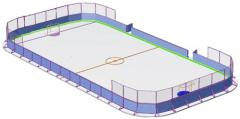 Services on construction of hockey grounds