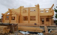 Construction of wooden structures