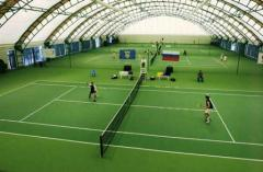Services on construction of tennis courts