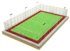 Construction of mini-soccer fields
