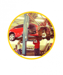 Repair of cars suspension systems