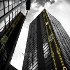 Праздничное оформления фасадов - Festive decoration of facades