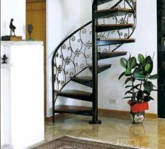 Installation of stairs, service areas and fences