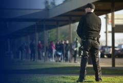 Обеспечение порядка на охраняемых объектах