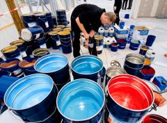Утилизация лако-красочных изделий