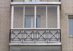 Sheathing of balconies