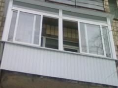 Heat-insulating works at Balconies