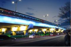 Подсветка мостов - зданий и любых фасадов