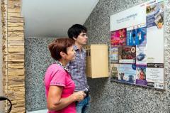 Размещение рекламы в элитном жилом комплексе
