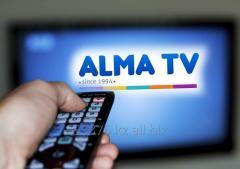 Ремонт установка АЛМА ТВ