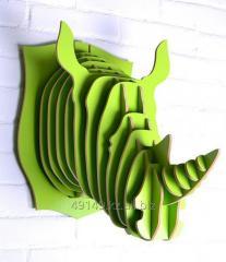 Декоративные 3D головы животных